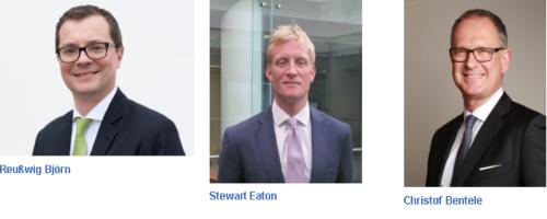 Christof Bentele, Björn Reusswig y Stewart Eaton, nuevos puestos de liderazgo global AGCS