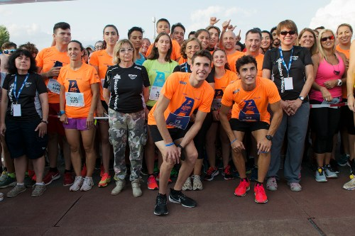 Marc y Alex Márquez participan en la V Allianz Night Run