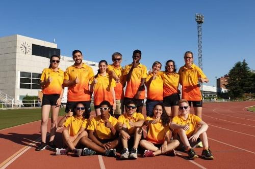 Las Promesas Paralímpicas de Atletismo de Liberty se concentran en Madrid