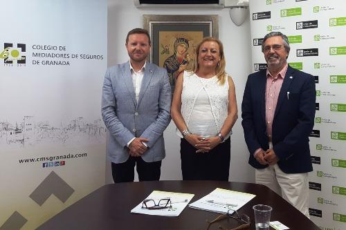 El Colegio de Granada y la UCAUCE colaborarán para la defensa de los consumidores
