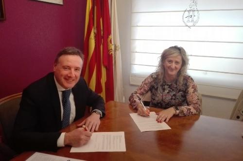 Mapfre y el Colegio de Zaragoza y Teruel sellan su colaboración