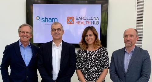 Sham y el Barcelona Health Hub se unen para potenciar la salud digital