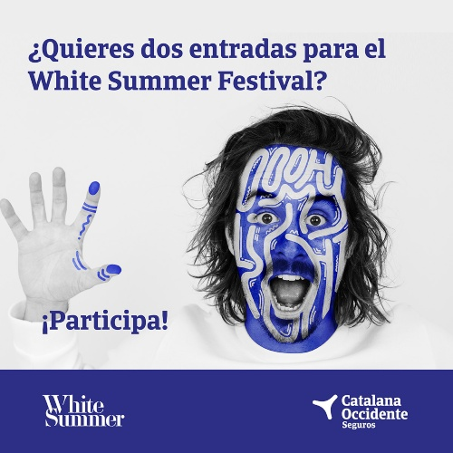 Catalana Occidente apoya el White Summer 2019