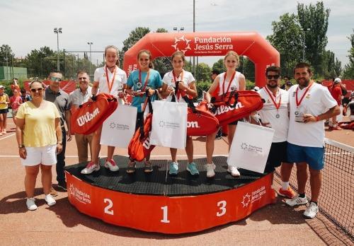 Récord de participación en el Xpress Tennis Cup de la Fundación Jesús Serra