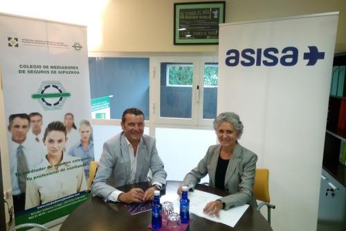 Asisa  y el Colegio de Guipúzcoa colaboran juntos
