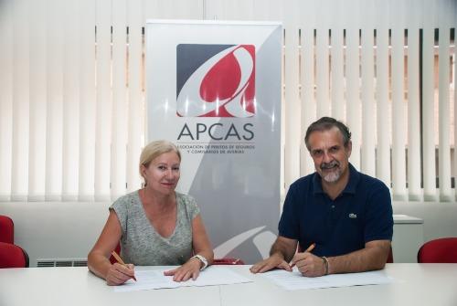 Apcas y el Consejo de Peritos Judiciales firman un convenio de colaboración