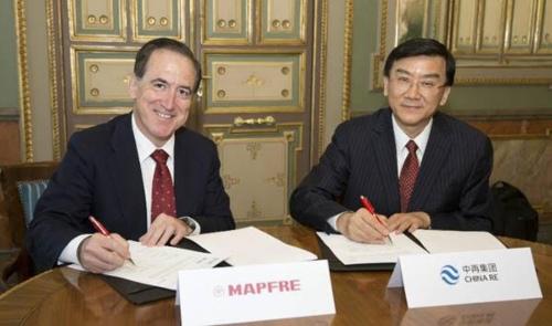 Nueva Ruta de la Seda: Mapfre firma un acuerdo de colaboración con China Re