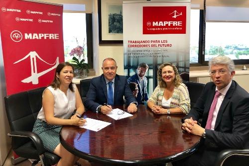 Mapfre y el Colegio de Mediadores de Córdoba, Huelva y Sevilla renuevan su colaboración