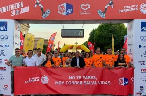 El Circuito de Carreras de Ponle Freno consolida su éxito en Pontevedra