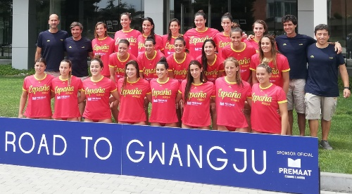 Premaat felicita a las selecciones españolas de waterpolo