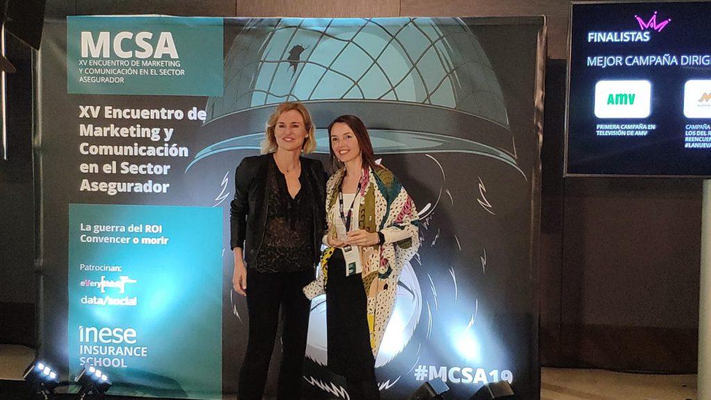 AMV, #MCSA19, premios, noticias de seguros