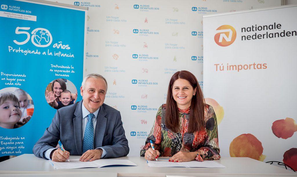 Nationale-Nederlanden Aldeas Infantiles noticias de seguros