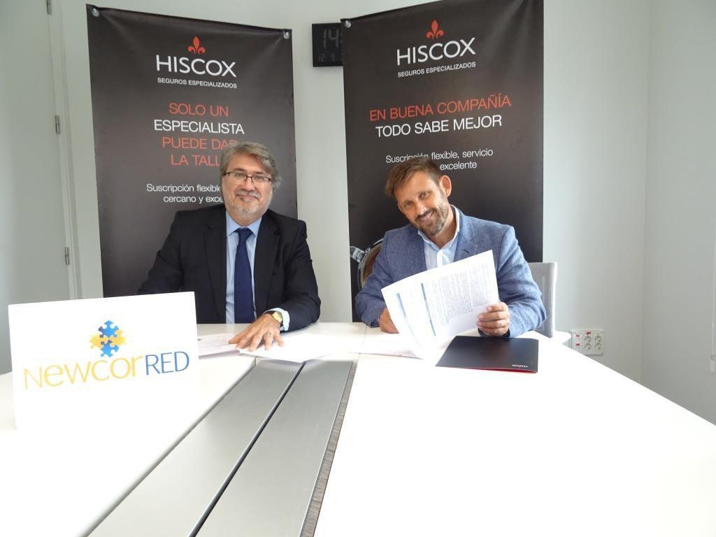 Newcorred Hiscox Pacto de Confianza noticias de seguros