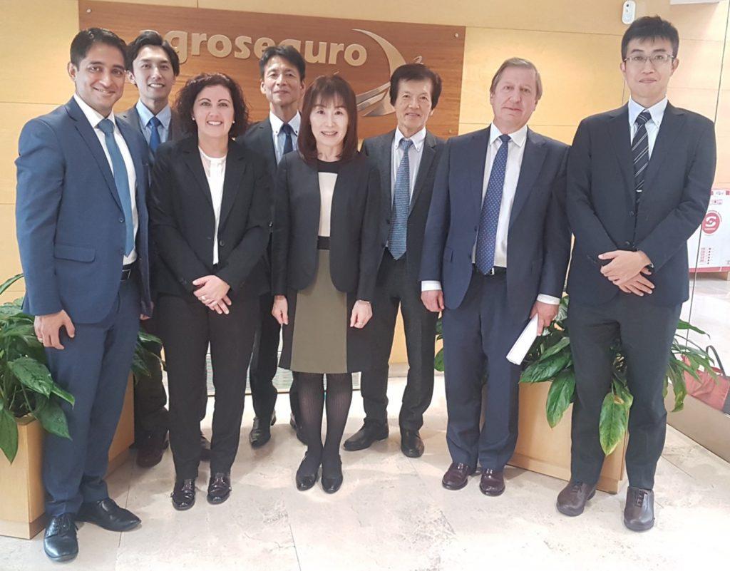 Agroseguro visita de Japón noticias de seguros