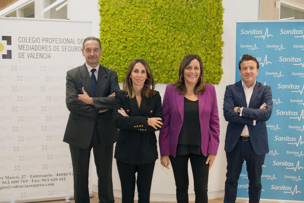 Colegio de Valencia acuerdo Sanitas noticias de seguros
