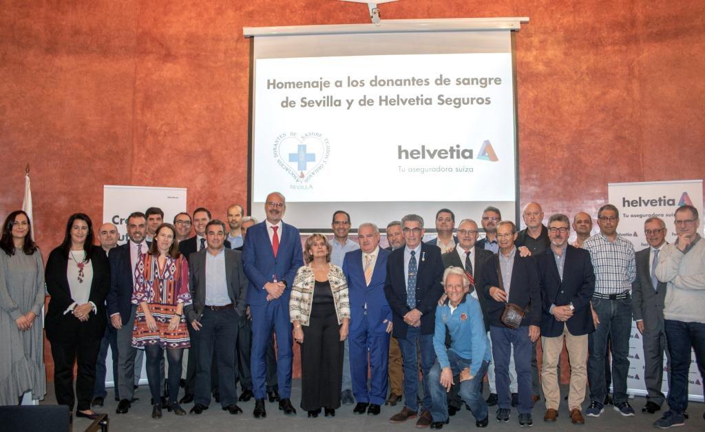 Helvetia Seguros homenaje donantes de sangre noticias de seguros