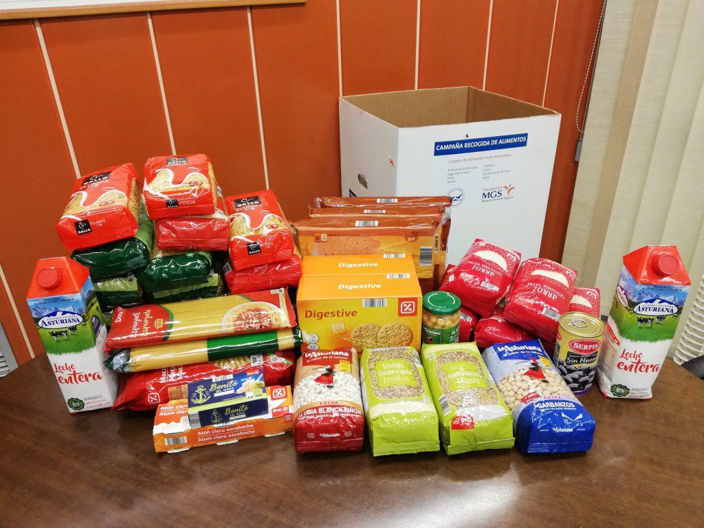 Fundación MGS Banco de alimentos noticias de seguros