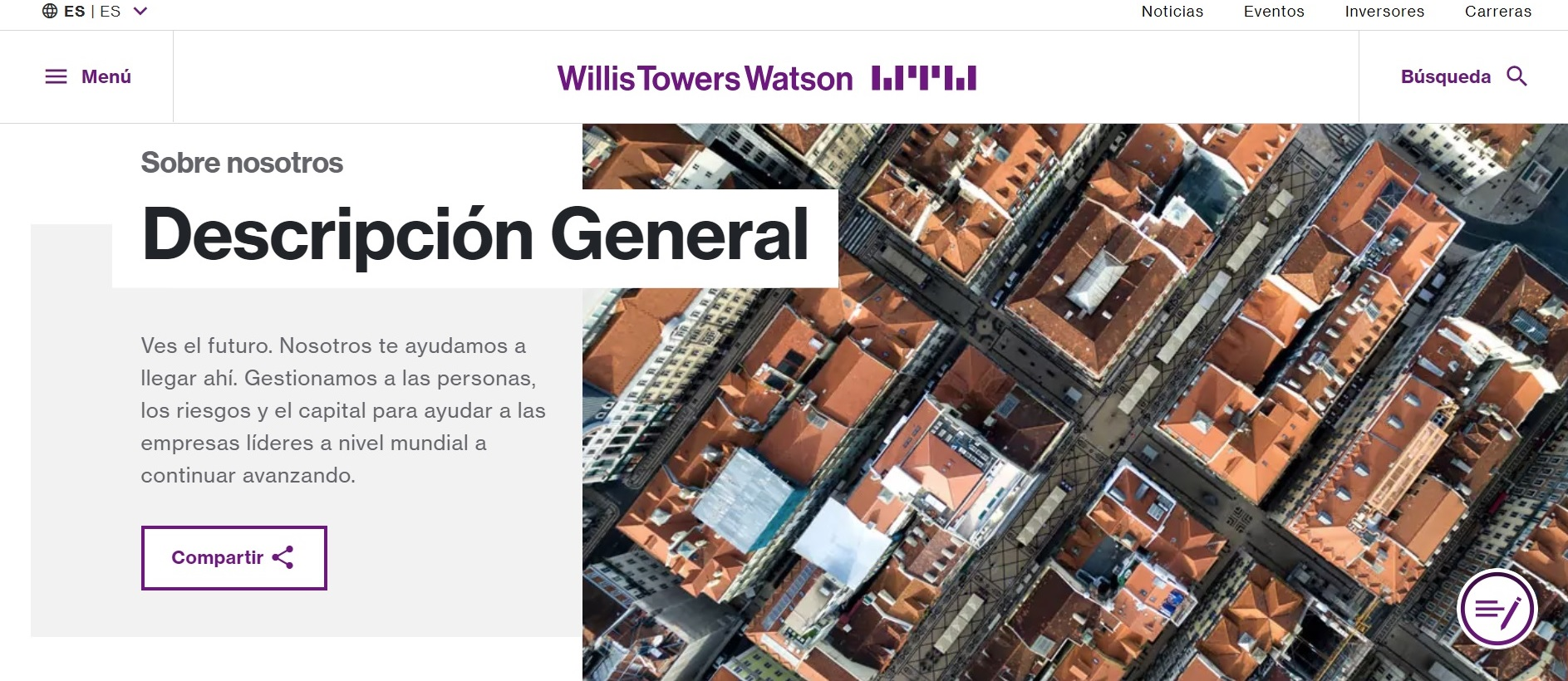 Willis Towers Watson noticias de seguros