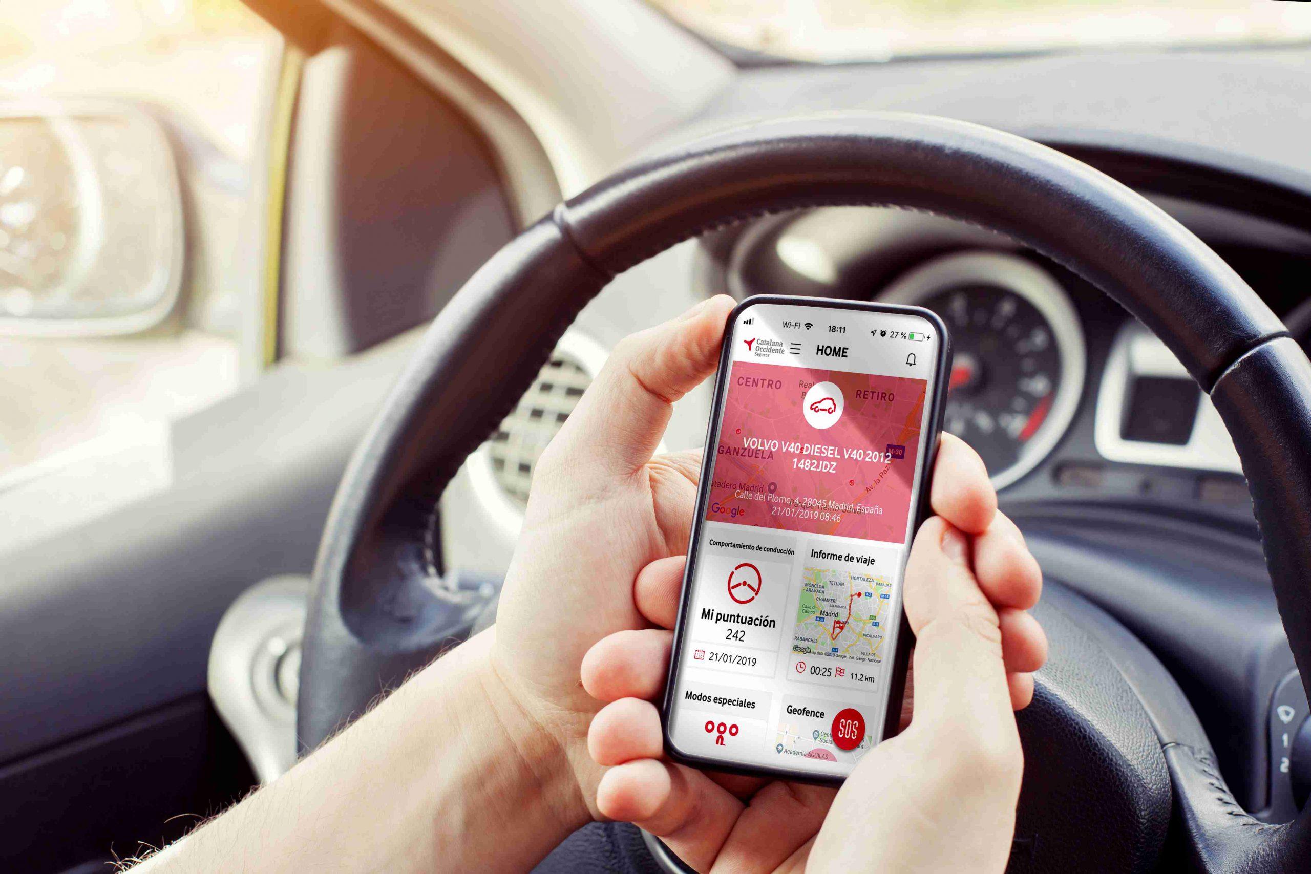 Catalana Occidente seguros de coche conectado noticias de seguros