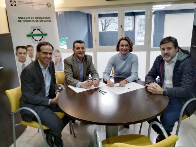 Colegio de Guipúzcoa acuerdo Asefa noticias de seguros