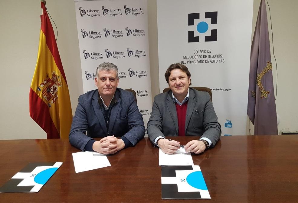 Liberty Seguros Colegio de Asturias noticias de seguros
