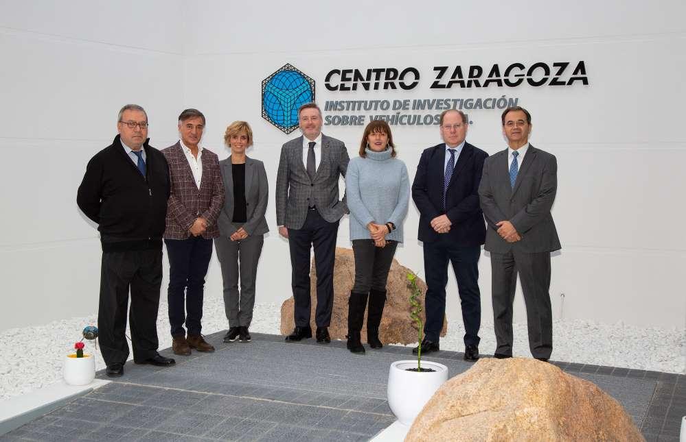 Colegio de Zaragoza visita Centro Zaragoza noticias de seguros
