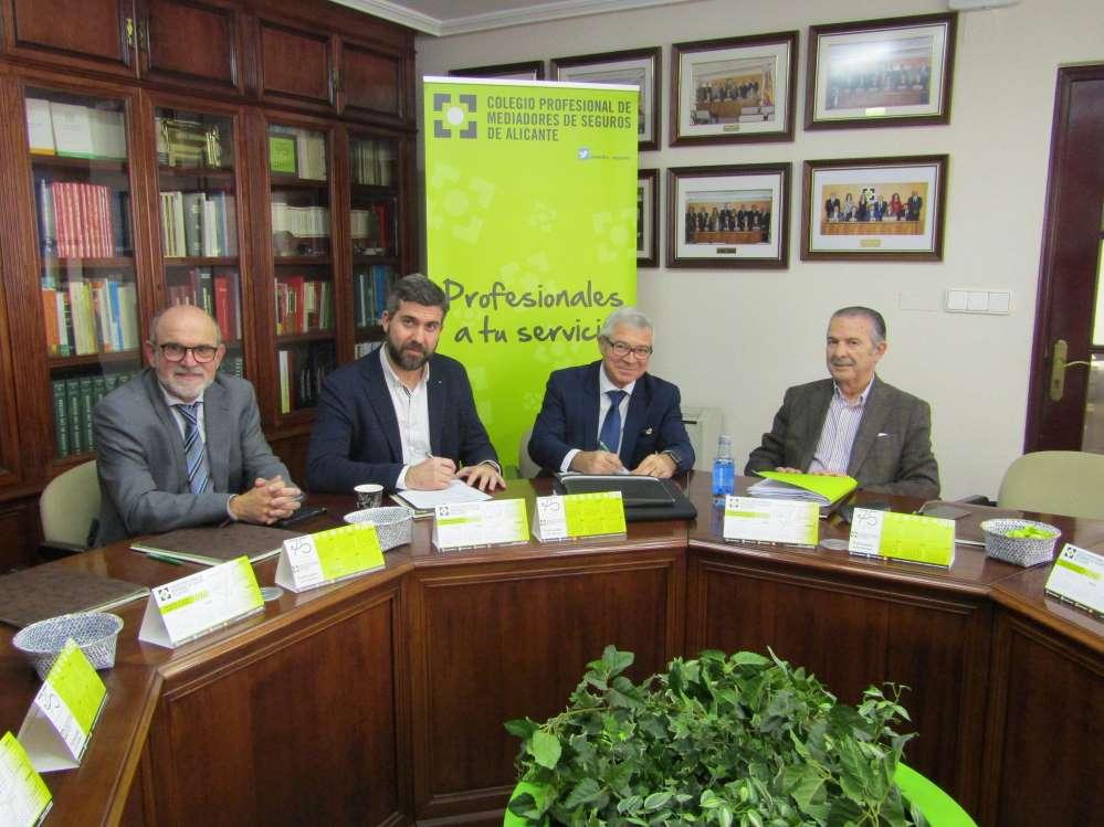 Colegio de Alicante Unión Alcoyana noticias de seguros