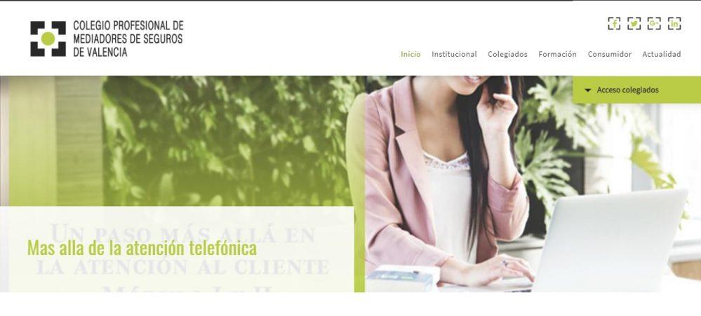 Colegio de Valencia formación atención al cliente noticias de seguros