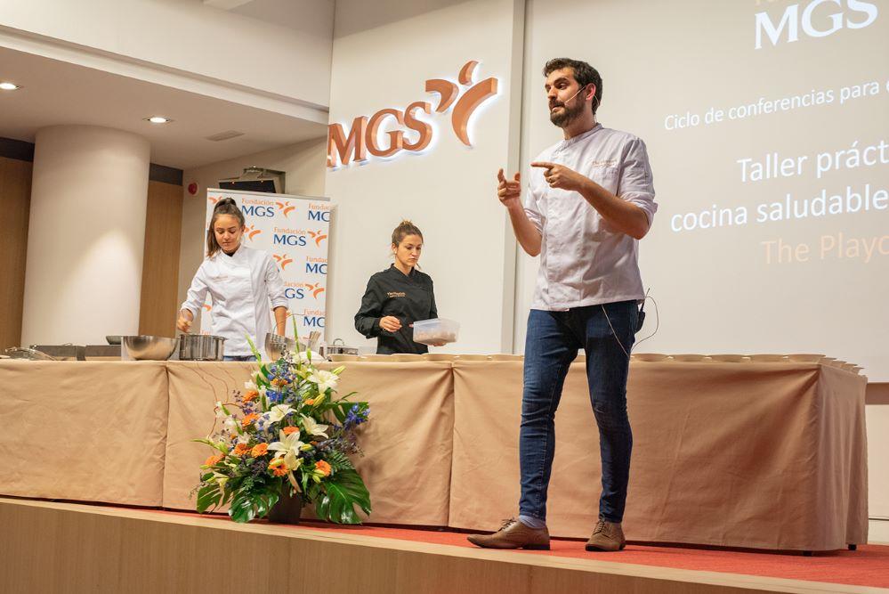 MGS showcooking noticias de seguros