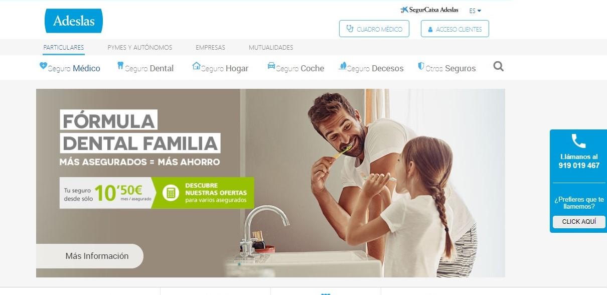 Adeslas Dental noticias de seguros