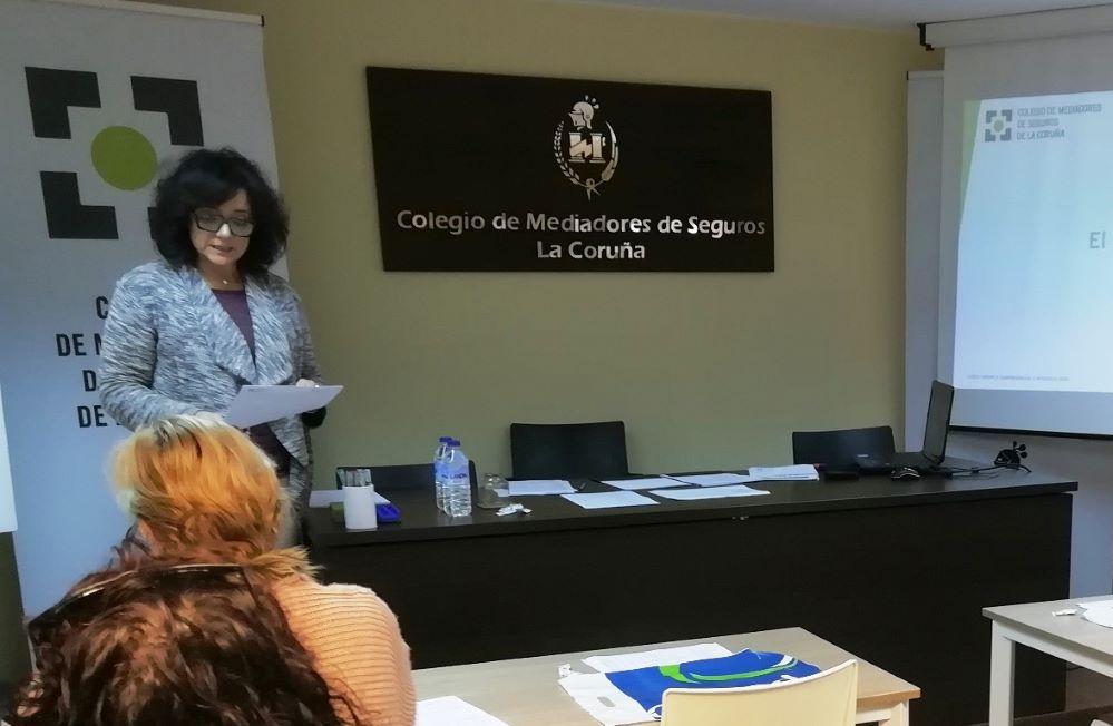 Colegio de La Coruña curso Grupo B noticias de seguros