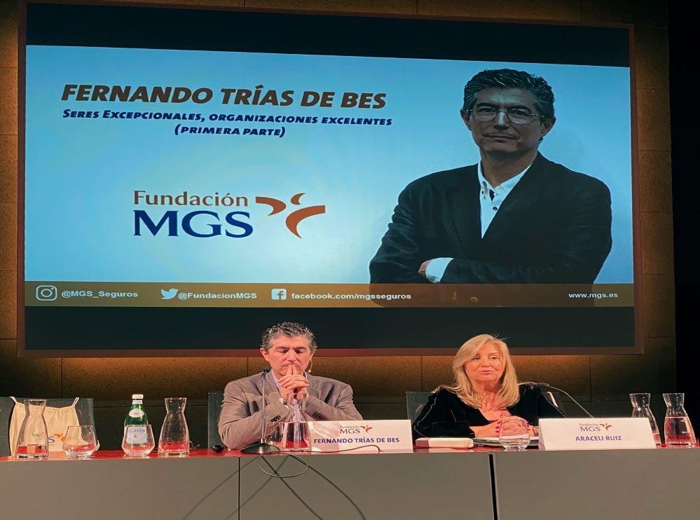 Trías de Bes Fundación MGS noticias de seguros
