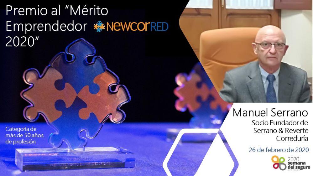 Newcorred premio Manuel Serrano noticias de seguros