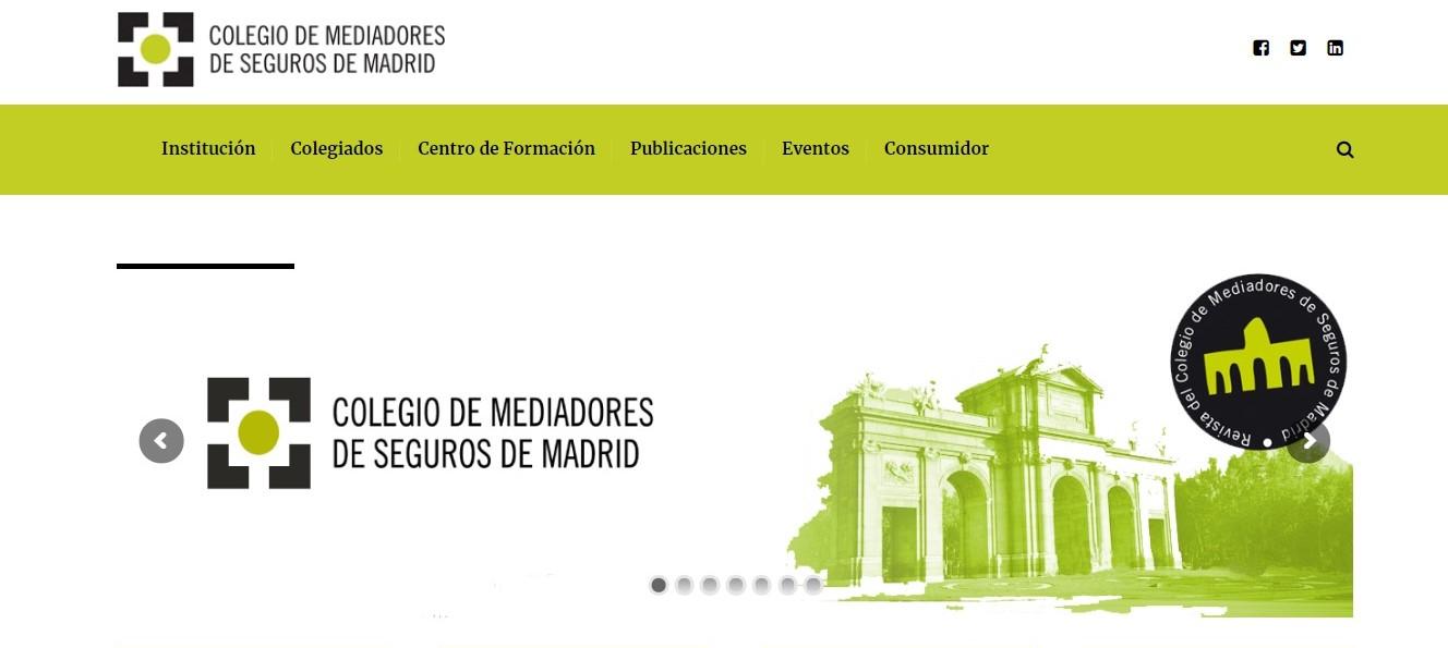 Colegio de Madrid noticias de seguros