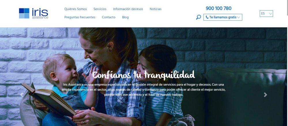 Iris Assistance digitalización noticias de seguros