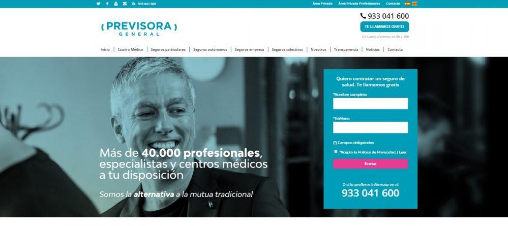 Previsora General teletrabajo noticias de seguros