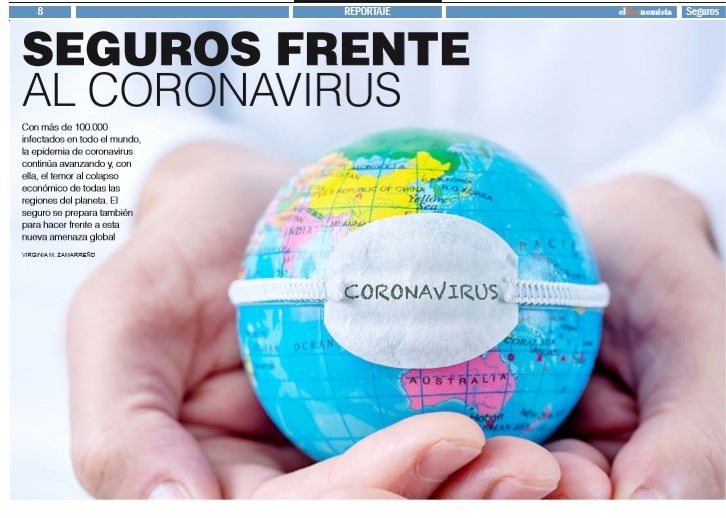 Seguros frente al coronavirus noticias de seguros