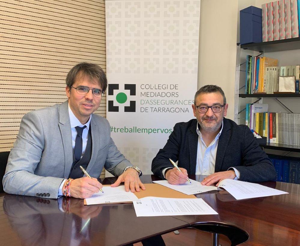 Liberty Seguros acuerdo COlegio de Tarragona noticias de seguros