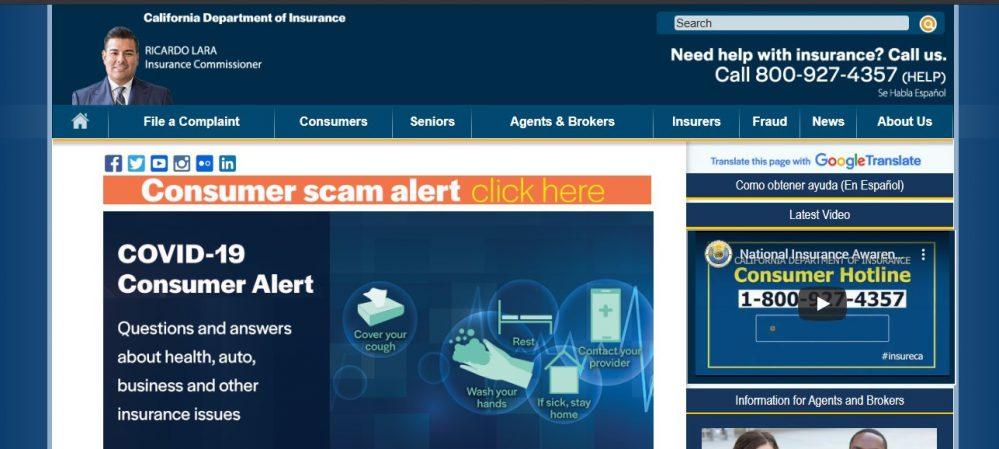 Aseguradoras California noticias de seguros