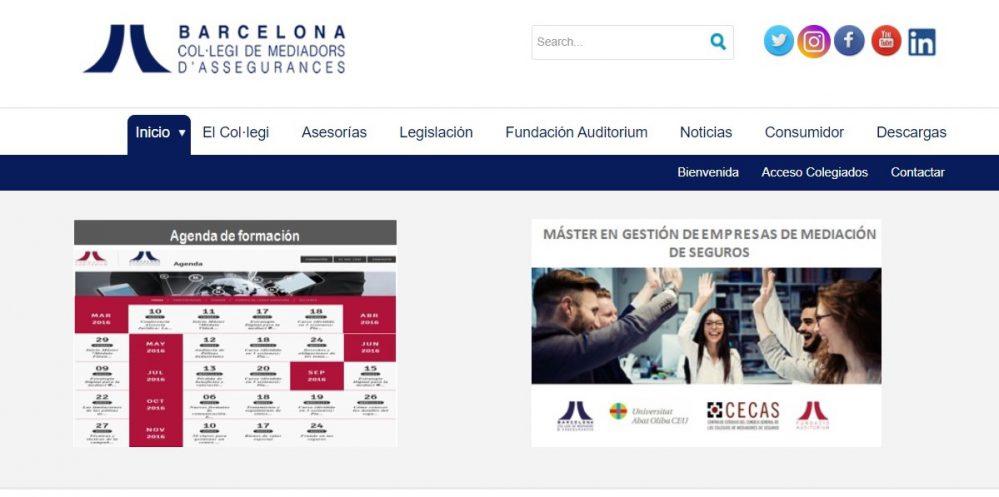Colegio de Barcelona noticias de seguros
