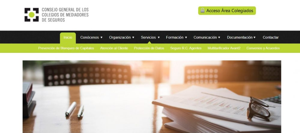Consejo General noticias de seguros