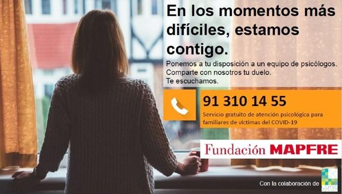 Fundación Mapfre duelo COVID-19 noticias de seguros