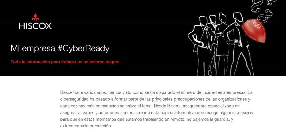 Hiscox #MiempresaCyberReady noticias de seguros