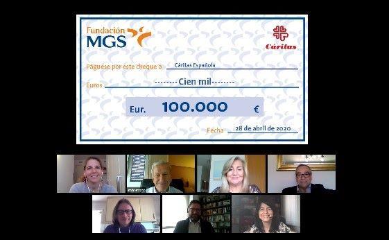 Fundación MGS apoya a Cáritas noticias de seguros