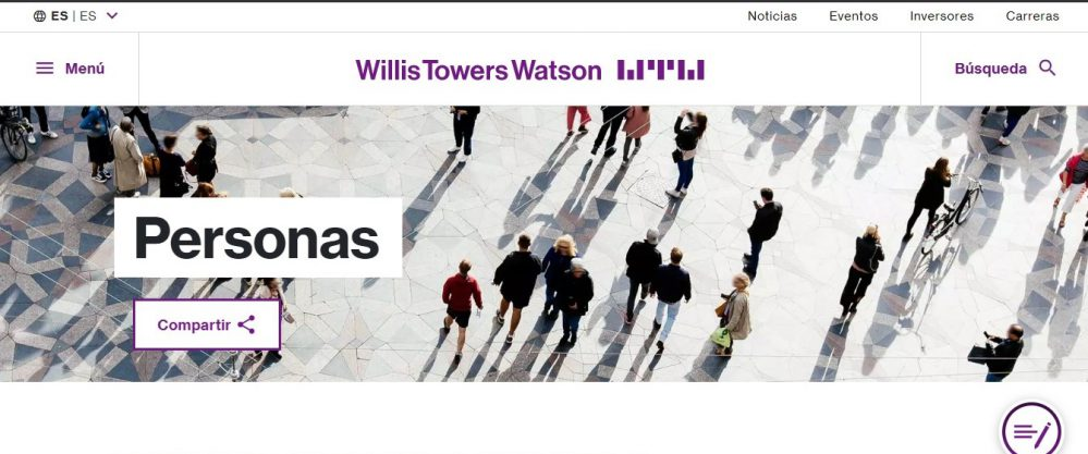 Willis Towers Watson pensiones noticias de seguros