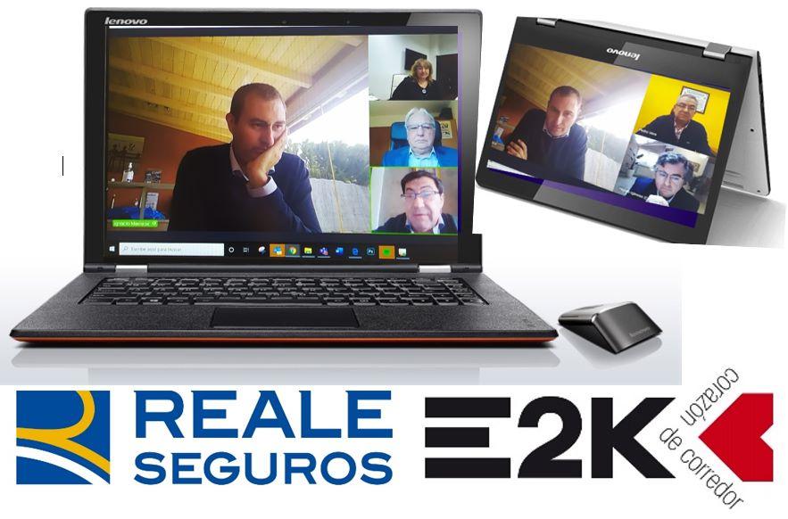 E2K reunión Reale noticias de seguros