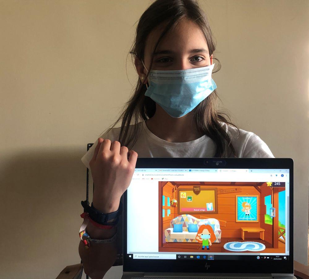mascarilla virtual Smartick noticias de seguros