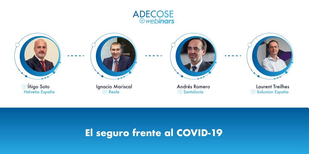 ACOSE webinar Helvetia, Reale, Santalucía y Solunion noticias de seguros