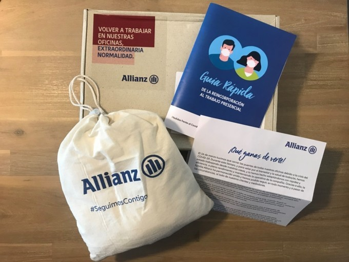 Allianz vuelta a las oficinas noticias de seguros