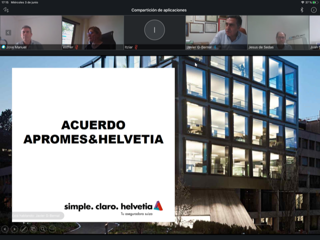 Apromes acuerdo Helvetia noticias de seguros
